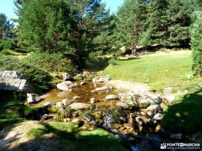 Circo Cerradillas-Loma Noruego; lagos enol y ercina excursiones en autocar cañon del rio guadalix